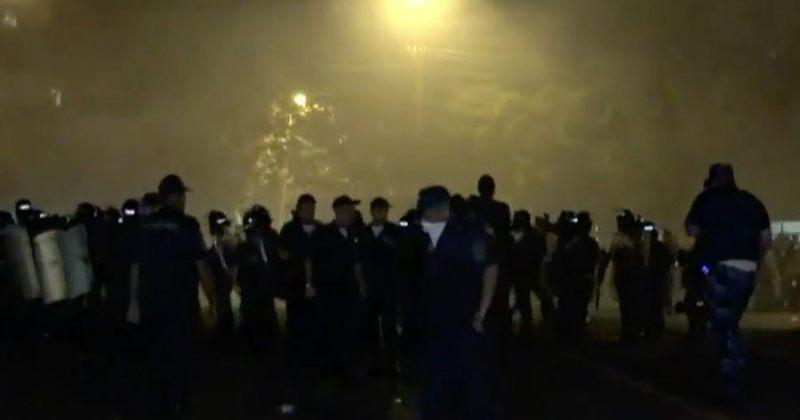 ერევანში მომხდარი არეულობის დროს 45 ადამიანი დაშავდა