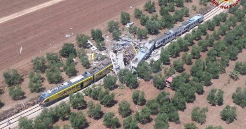 იტალიაში ორი მატარებელი ერთმანეთს შეეჯახა, დაღუპულია სულ მცირე 20 ადამიანი