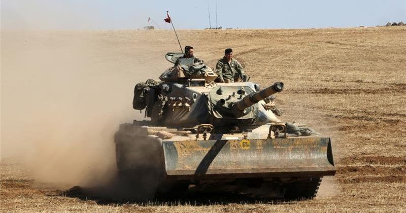 თურქეთმა სირიაში ISIS-ისა და ამბოხებული ქურთების პოზიციებზე იერიში მიიტანა