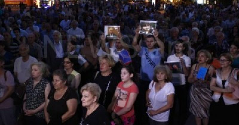 ერევანში დაჯგუფება სასნა ცრერის მხარდამჭერ მსვლელობაზე 27 ადამიანი დააკავეს
