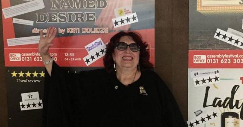 ქეთი დოლიძე ბონდო მძინარაშვილს 100000000000%!!!!!-ით ეთანხმება
