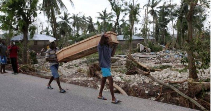 ქარიშხალი მეთიუ: ჰაიტიში დაღუპულთა რაოდენობამ 800-ს მიაღწია