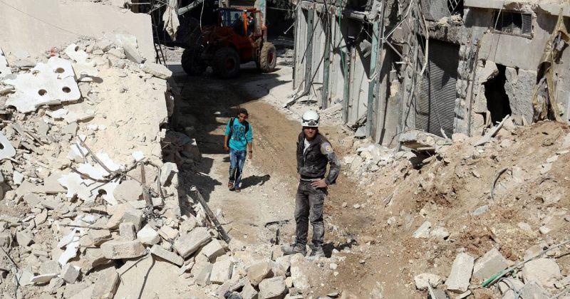 EU: რუსეთისა და სირიის ქმედებები ალეპოში შესაძლოა, სამხედრო დანაშაულად ჩაითვალოს