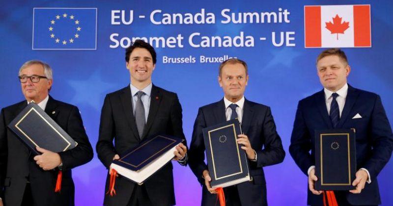 ევროკავშირმა და კანადამ თავისუფალი ვაჭრობის შესახებ შეთანხმება გააფორმეს