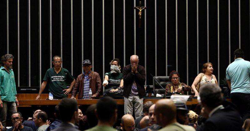 ბრაზილიის პრეზიდენტის მოწინააღმდეგეებმა კონგრესში შეჭრით, სესია ჩაშალეს
