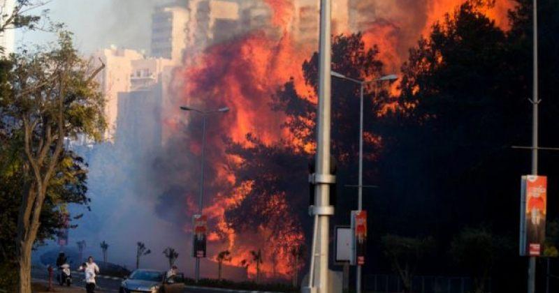 ძლიერი ხანძრის გამო ისრაელის ქალაქ ხაიფადან ათობით ათასი ადამიანია ევაკუირებული