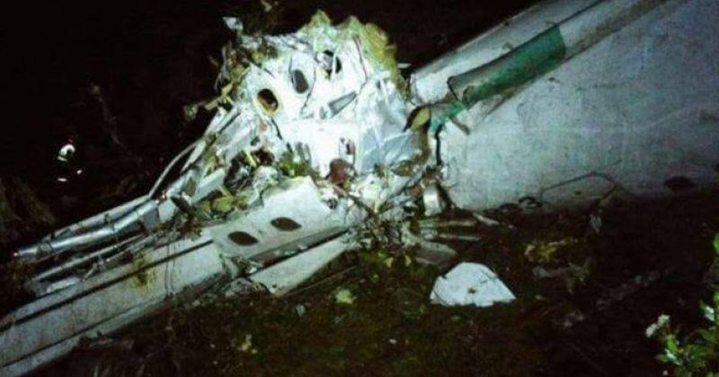 თვითმფრინავი, რომელზეც შაპოკოენსეს ფეხბურთელები იმყოფებოდნენ, ჩამოვარდა