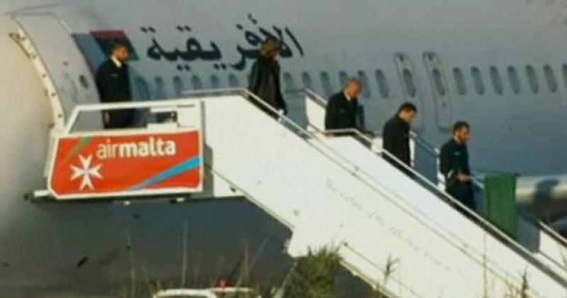 ლიბიური თვითმფრინავის გამტაცებლები დააკავეს