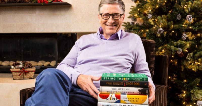 ბილ გეიტსი წლის 5 ფავორიტ წიგნს აქვეყნებს
