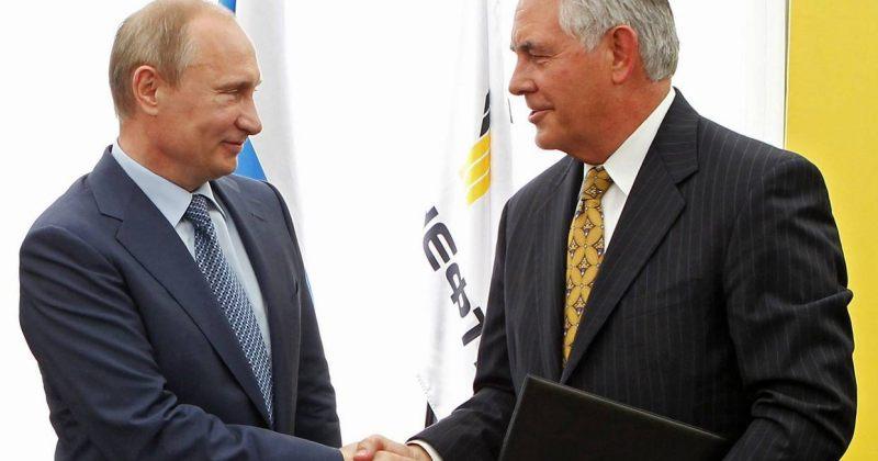 Exxon-ის პუტინთან დაკავშირებული CEO აშშ-ის სახელმწიფო მდივნობის ერთ-ერთ კანდიდატია