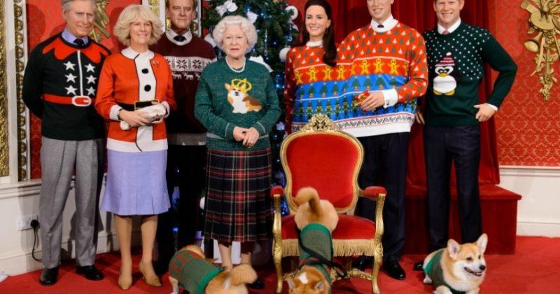ბრიტანეთის სამეფო ოჯახი მადამ ტუსოს ცვილის მუზეუმში სადღესასწაულოდ გამოაწყვეს