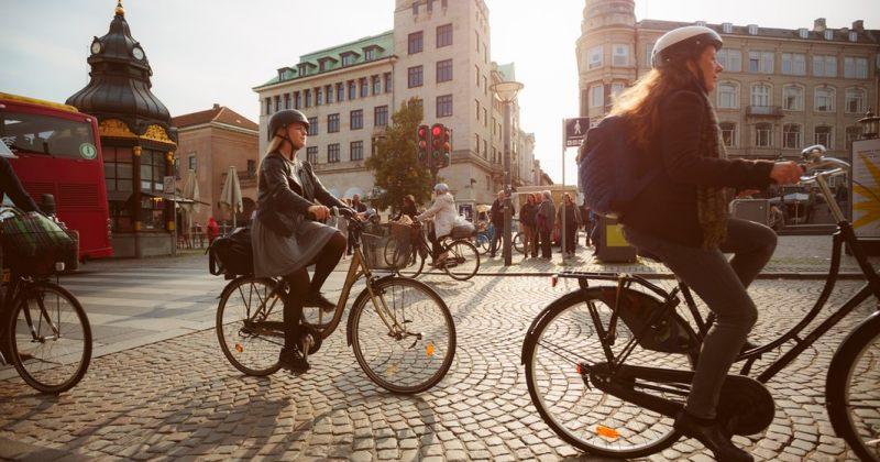 კოპენჰაგენში ველოსიპედების რაოდენობამ ავტომობილების რაოდენობას გადააჭარბა