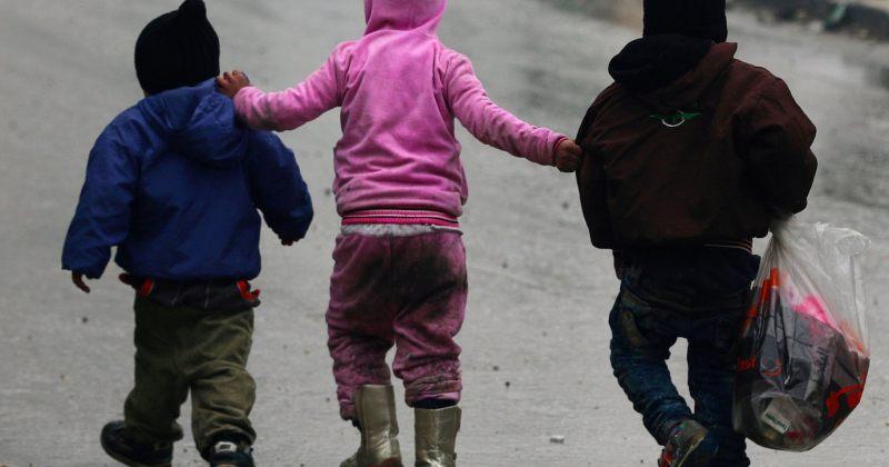 ბავშვები ალეპოში