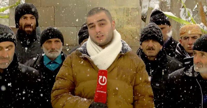 ლოცვა თოვლში - უმეჩეთოდ დარჩენილი მოხელი მუსლიმები