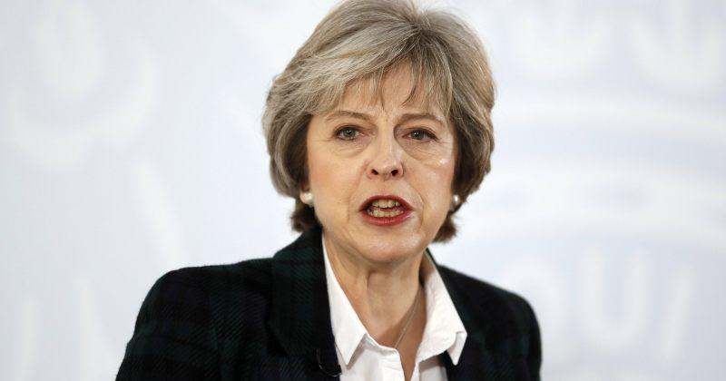 მეიმ ევროკავშირთან Brexit-ის შემდგომი მოლაპარაკებების 12-პუნქტიანი გეგმა გამოაცხადა