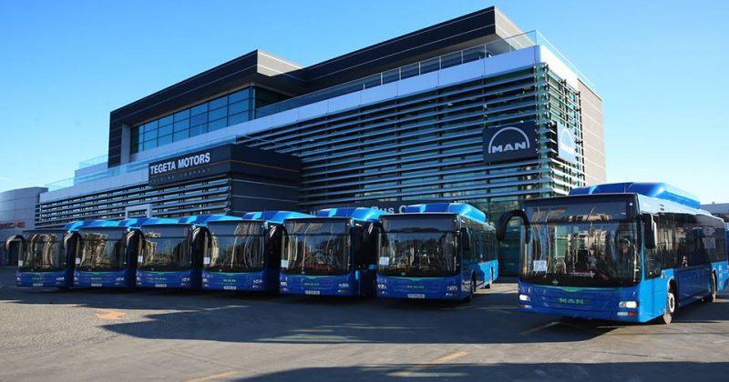 ახალი, ლურჯი ავტობუსები N51 მარშრუტზე დღეს პირველად გავიდნენ