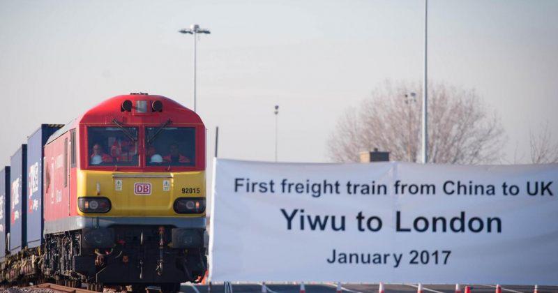 ჩინეთიდან ლონდონში პირველი მატარებელი უკვე ჩავიდა, მას თბილისზე არ გაუვლია