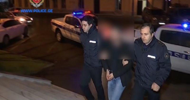 გამოძალვის, ძარცვის და თავისუფლების უკანონო აღკვეთის ბრალდებით 4 ადამიანი დააკავეს