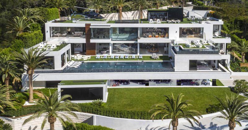 როგორ გამოიყურება აშშ-ში ყველაზე ძვირადღირებული - $250 მილიონიანი სასახლე