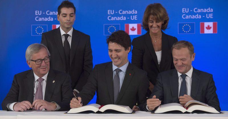 ევროკავშირ-კანადას შორის თავისუფალ ვაჭრობას ევროპარლამენტმა მხარი დაუჭირა