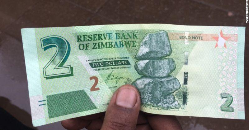 ზიმბაბვეს ახალი ვალუტა ნამდვილი ვალუტა არაა