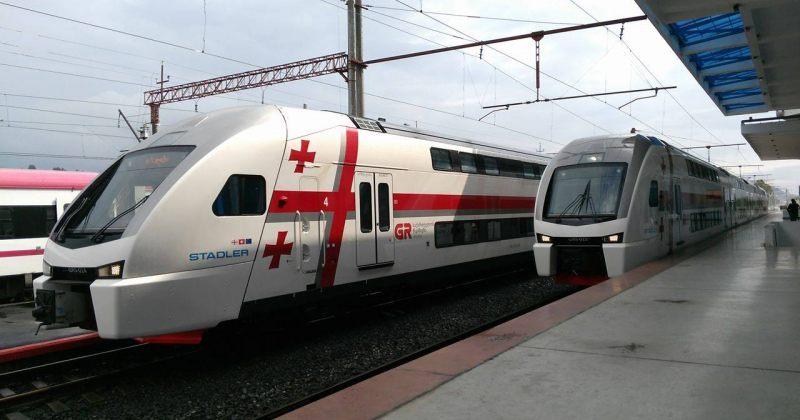 მატარებლებში მგზავრებს რუსულად აღარ მიმართავენ, ცვლილება გავრილოვის ვიზიტს არ უკავშირდება