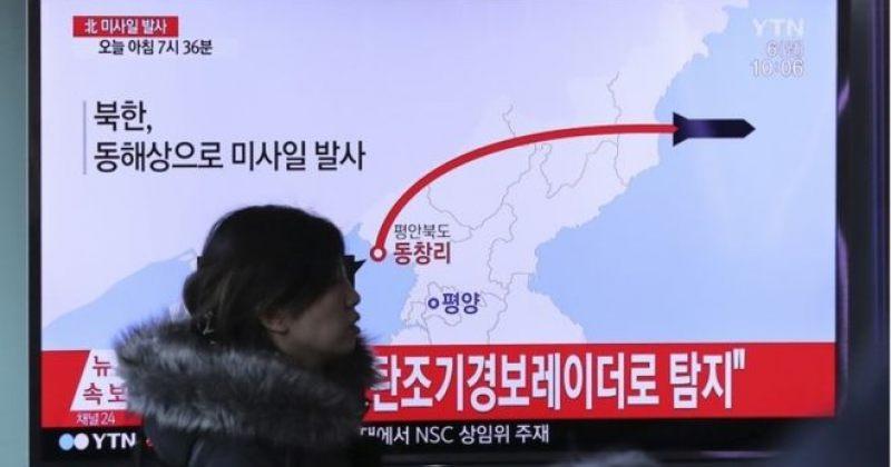 ჩრდილოეთ კორეამ იაპონიის ზღვის მიმართულებით 4 ბალისტიკური რაკეტა გაუშვა