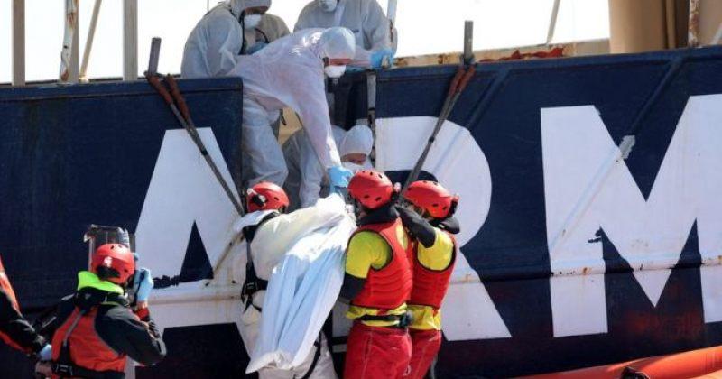 ხმელთაშუა ზღვაში მიგრანტების 2 ნავი იპოვეს, სავარაუდოდ, დაღუპულია 200-ზე მეტი ადამიანი