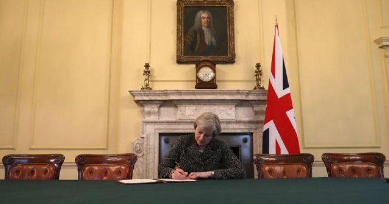 დიდი ბრიტანეთის ევროკავშირიდან გასვლის პროცესი დაიწყო
