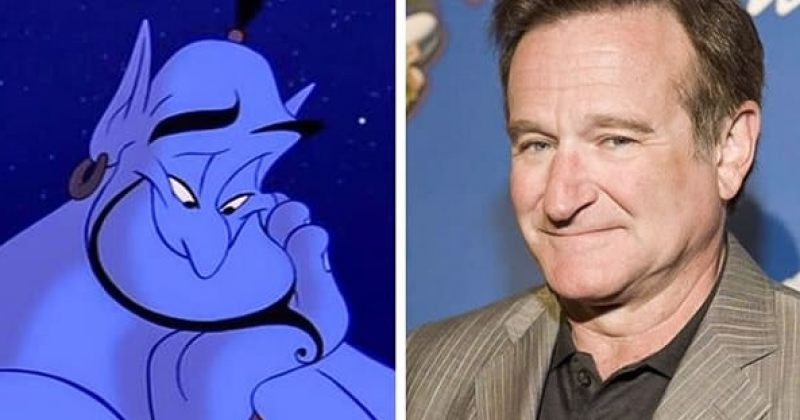 ცნობილი ადამიანები, რომლებიც Disney-ს პერსონაჟებს ჰგვანან