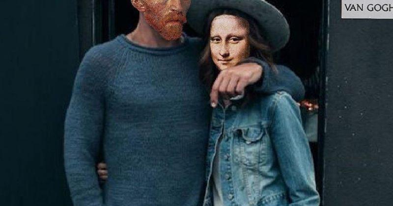 საკულტო ნახატების გმირები რომ თანამედროვე ადამიანები ყოფილიყვნენ