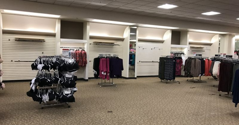 აშშ-ში ტანსაცმლის მაღაზიები ისტორიაში ყველაზე მაღალი ტემპით იხურება