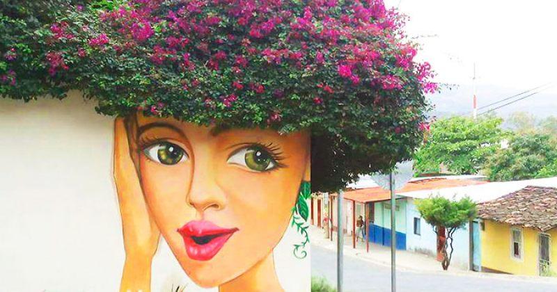 ქუჩის ხელოვნება, რომელიც ბუნებას ერწყმის
