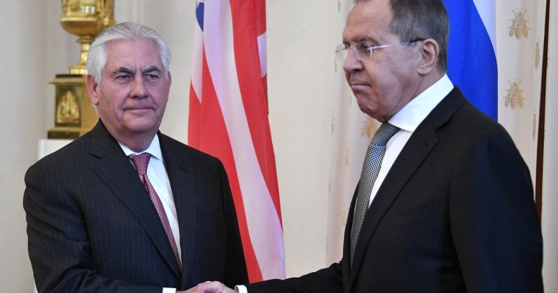 ტილერსონი ლავროვს: არჩევნებში რუსეთის ჩარევამ ორი ქვეყნის ურთიერთობები დააზიანა