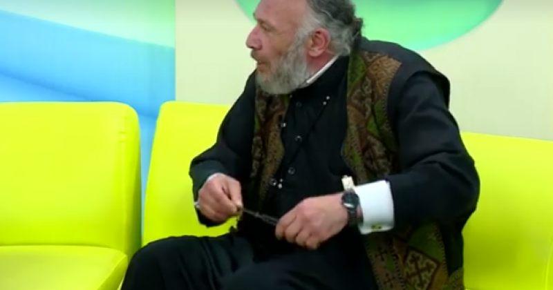 მღვდელი ანთიმოზ ბიჩინაშვილი: ფოკუსი გავაკეთე, დანა ამოვიღე და გამივარდა ხელიდან