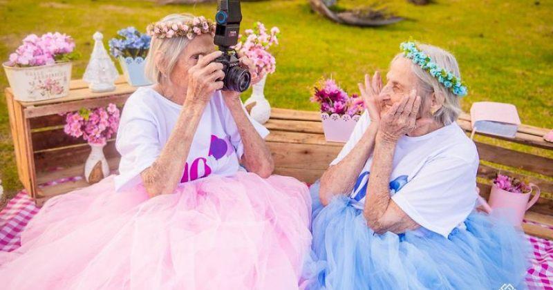 მარია და პაულინა - ტყუპები, რომელთაც მალე 100 წელი შეუსრულდებათ