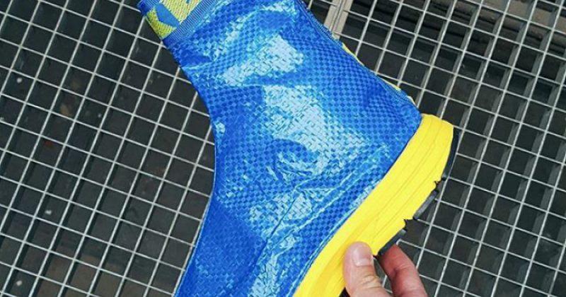 IKEA-ს 99-ცენტიანი ჩანთისგან დამზადებული სამოსი, ფეხსაცმელი და აქსესუარები