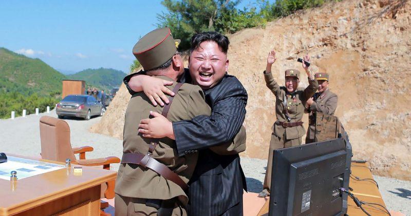 ჩრდილოეთ კორეის ლიდერ კიმ ჩენ ინის რეაქცია ბალისტიკური რაკეტის გაშვებაზე
