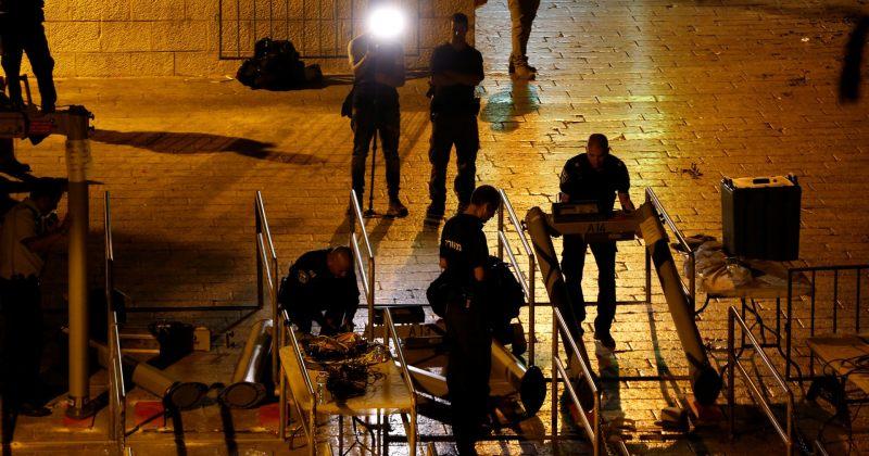 ისრაელი ალ-აქსას მეჩეთის შესასვლელში დამონტაჟებულ მეტალოდეტექტორებს მოხსნის