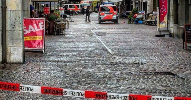 შვეიცარიაში მომხდარი თავდასხმისას სულ მცირე ხუთი ადამიანი დაშავდა