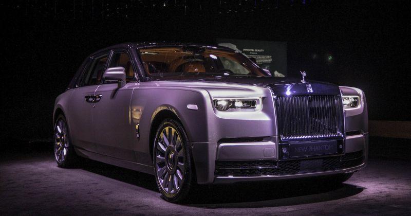 ახალი Rolls-Royce Phantom-ი $500 000-იანი ხელოვნების ნიმუშია