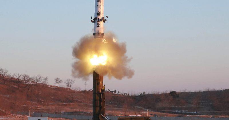 ჩრდილოეთ კორეამ ახალი ბალისტიკური რაკეტა გამოსცადა