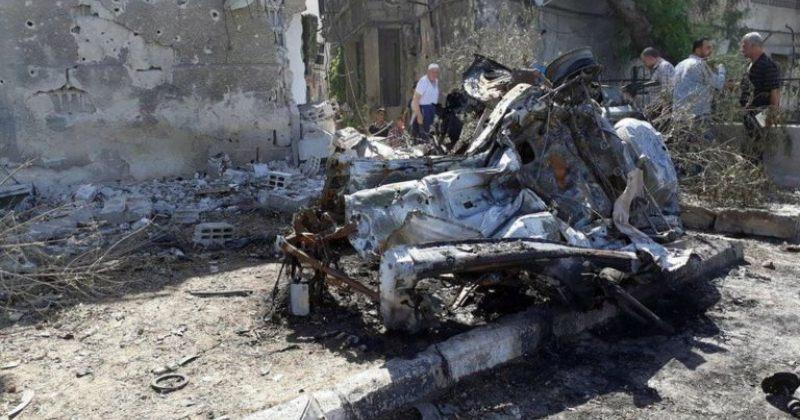 დამასკოში მომხდარი ტერაქტის შედეგად 8 ადამიანი დაიღუპა, 12 კი დაშავდა
