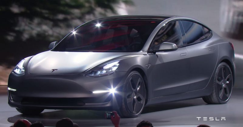 Tesla-ს მოდელი 3 გაყიდვაში 7 ივლისიდან გამოვა