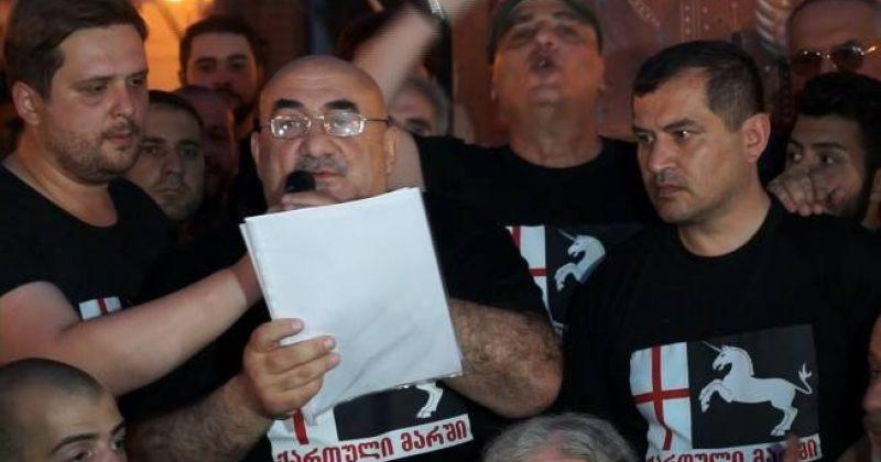 ქართული მარში: იმის გამო რომ ნაკრებს ხელი არ შეეშალოს, მზად ვართ გავაუქმოთ ყველა აქცია