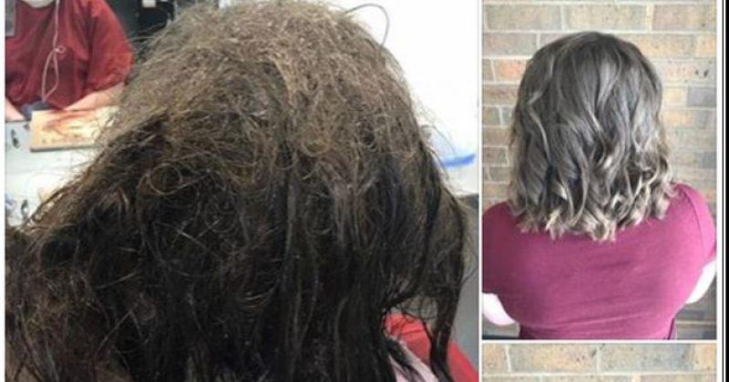 სტილისტმა დეპრესიაში მყოფ გოგონასთვის თმის გადაპარსვაზე უარი თქვა