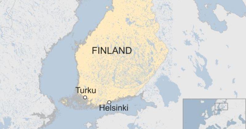 ფინეთის პოლიციამ მამაკაცს ესროლა მას შემდეგ, რაც მან რამდენიმე ადამიანი დაჭრა