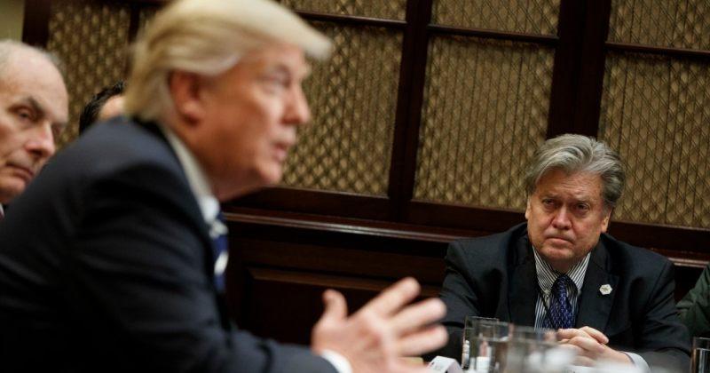 დონალდ ტრამპმა მთავარი სტრატეგი, სტივ ბენონი თანამდებობიდან გაათავისუფლა