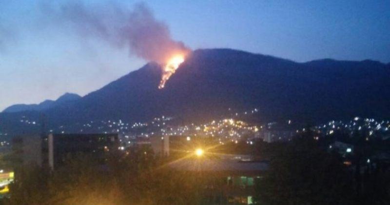 დაკარგულმა ტურისტმა სიგნალის მისაცემად ცეცხლი აანთო, რომელიც ხანძარში გადაიზარდა