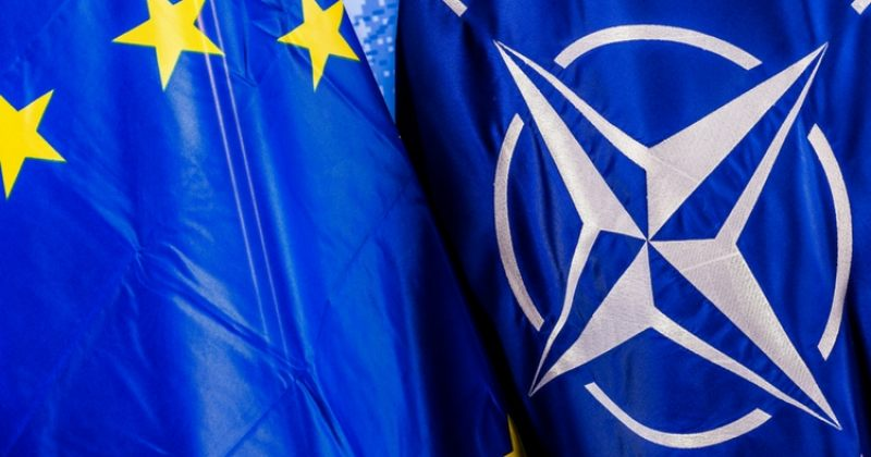 NDI: NATO-სა და ევროკავშირში გაწევრიანებას მხარს კვლავ სრული უმრავლესობა უჭერს - 74% და 82%